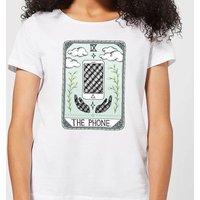 Barlena The Phone Women's T-Shirt - White - XXL - White