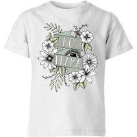 Barlena No Drama Kids' T-Shirt - White - 7-8 Years - White