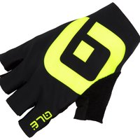 Ale Air Gloves - L - Black/Fluo Yellow