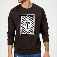 NYC Diamond Sweatshirt - Black - XL - Black