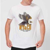 Eagle Tattoo Men's T-Shirt - White - 5XL - White