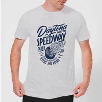 Daytona Speedway Men's T-Shirt - Grey - 4XL - Grey
