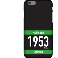 Maillot Vert Phone Case for iPhone and Android - iPhone 6 - Snap Case - Matte