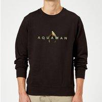 Aquaman Title Sweatshirt - Black - XXL - Black