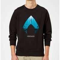Aquaman Deep Sweatshirt - Black - XXL - Black