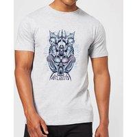 Aquaman Atlantis Seven Kingdoms Men's T-Shirt - Grey - XS - Grey