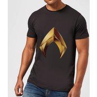 Aquaman Symbol Men's T-Shirt - Black - L - Black