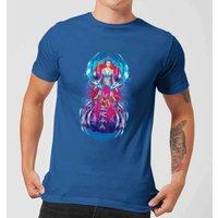 Aquaman Mera Hourglass Men's T-Shirt - Royal Blue - XXL - royal blue