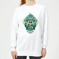 Aquaman Seven Kingdoms Women's Sweatshirt - White - XL - White