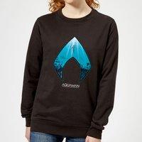 Aquaman Deep Women's Sweatshirt - Black - M - Black