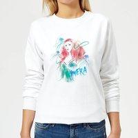 Aquaman Mera Women's Sweatshirt - White - XL - White