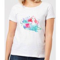 Aquaman Mera First Princess Women's T-Shirt - White - L - White