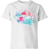 Aquaman Mera First Princess Kids' T-Shirt - White - 11-12 Years - White