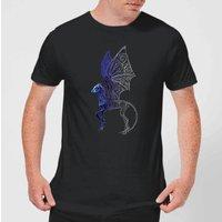 Fantastic Beasts Tribal Thestral Men's T-Shirt - Black - S - Black