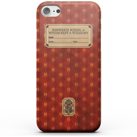 Harry Potter Gryffindor Text Book Phone Case for iPhone and Android - Samsung S6 - Snap Case - Gloss