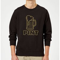 Pint Sweatshirt - Black - M - Black