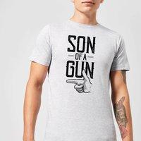 Son Of A Gun Men's T-Shirt - Grey - 5XL - Grey