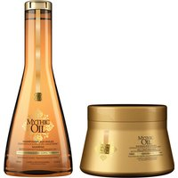 L'Oreal Professionnel Mythic Oil Shampoo and Masque for Normal to Fine Hair Duo