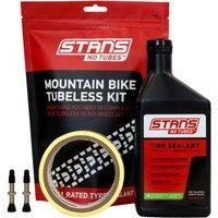 Stans NoTubes MTB Tubeless Kit - 44mm Valve - 27mm Tape