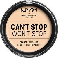 NYX Professional Makeup Can't Stop Won't Stop Powder Foundation (Various Shades) - Pale