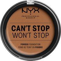 NYX Professional Makeup Can't Stop Won't Stop Powder Foundation (Various Shades) - Mahogany