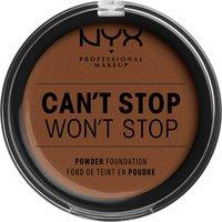 NYX Professional Makeup Can't Stop Won't Stop Powder Foundation (Various Shades) - Mocha