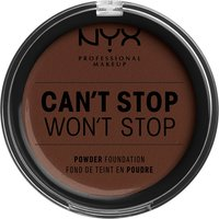 NYX Professional Makeup Can't Stop Won't Stop Powder Foundation (Various Shades) - Deep Espresso