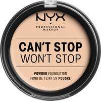NYX Professional Makeup Can't Stop Won't Stop Powder Foundation (Various Shades) - Light Ivory