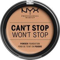 NYX Professional Makeup Can't Stop Won't Stop Powder Foundation (Various Shades) - Medium Olive