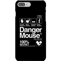 Danger Mouse 100% Secret Phone Case for iPhone and Android - iPhone 7 Plus - Snap Case - Gloss