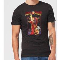 Flash Gordon Retro Movie Men's T-Shirt - Black - XXL - Clothes Gifts