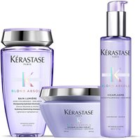 Kerastase Blond Absolu Bain Lumiere Shampoo, Treatment and Masque Trio