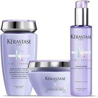 Kerastase Blond Absolu Ultra Violet Shampoo, Treatment and Masque Trio