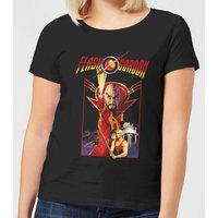 Flash Gordon Retro Movie Women's T-Shirt - Black - XXL - Clothes Gifts