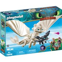 Playmobil DreamWorks Dragons Light Fury with Baby Dragon and Children (70038) - Baby Gifts