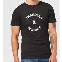 Chandler & Monica Men's T-Shirt - Black - L - Black