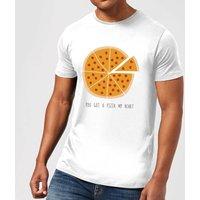 You Got A Pizza My Heart Men's T-Shirt - White - 3XL - White