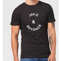 Jay-Z & Beyonce Men's T-Shirt - Black - XS - Black