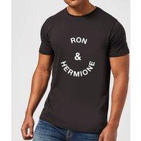 Ron & Hermione Men's T-Shirt - Black - XL - Black
