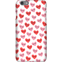 Hearts Phone Case for iPhone and Android - iPhone 6S - Tough Case - Gloss