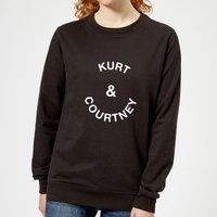 Kurt & Courtney Women's Sweatshirt - Black - L - Black