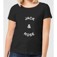 Jack & Rose Women's T-Shirt - Black - XL - Black
