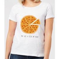 You Got A Pizza My Heart Women's T-Shirt - White - 4XL - White