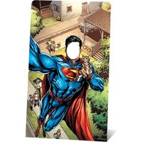 DC - Superman Selfie Stand-In Cardboard Cut Out - Superman Gifts