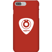 Ei8htball White Plectrum Logo Phone Case for iPhone and Android - iPhone 7 Plus - Snap Case - Gloss
