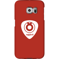 Ei8htball White Plectrum Logo Phone Case for iPhone and Android - Samsung S6 Edge Plus - Snap Case - Gloss - Guitar Gifts