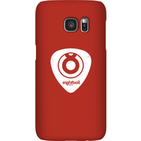 Ei8htball White Plectrum Logo Phone Case for iPhone and Android - Samsung S7 - Snap Case - Gloss - Guitar Gifts