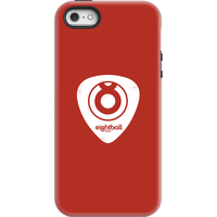 Ei8htball White Plectrum Logo Phone Case for iPhone and Android - iPhone 5/5s - Tough Case - Gloss - Guitar Gifts