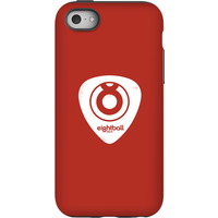 Ei8htball White Plectrum Logo Phone Case for iPhone and Android - iPhone 5C - Tough Case - Gloss - Guitar Gifts