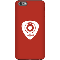 Ei8htball White Plectrum Logo Phone Case for iPhone and Android - iPhone 6 Plus - Tough Case - Gloss - Guitar Gifts